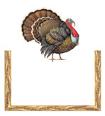 Thanksgiving place cards Harvest Turkey Pak 8