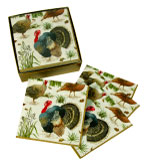 Beverage Napkins Wild Turkey - Box 40
