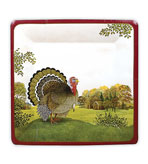 Autumn Farm Dinner Plates - Pak 8