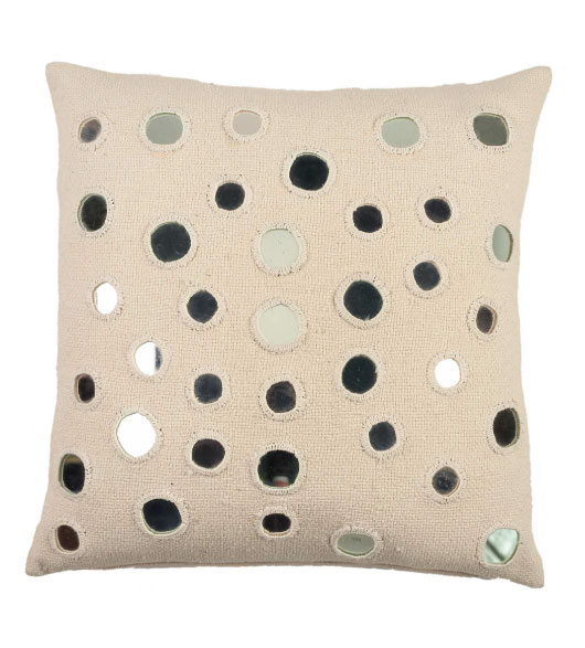 Decorative Pillows With Mirrors : Sheesha Throw Pillow