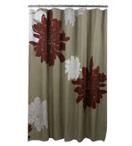 Unique Shower Curtains Beige & Brown