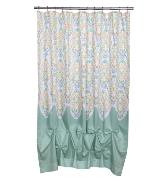 Unique Shower Curtain Designs in Beautiful Fabrics