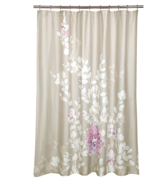 Decorative shower curtains 28 images better homes and for Weird shower curtains