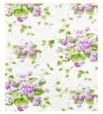 Unique Shower Curtain Sweet Violet