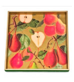 Wood Serving Trays Pear