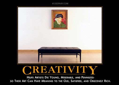 Creativity Demotivator