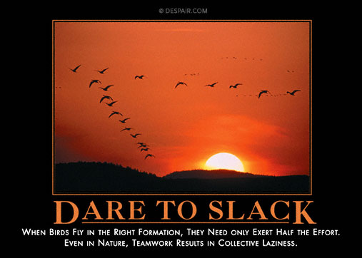 Dare Slack Demotivator