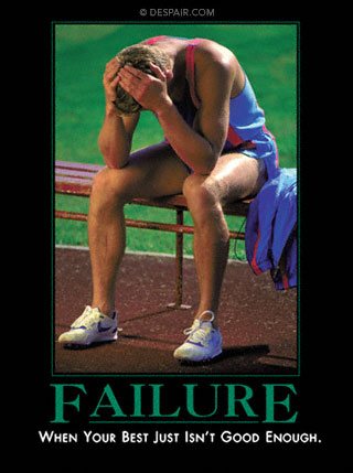Failure Demotivator