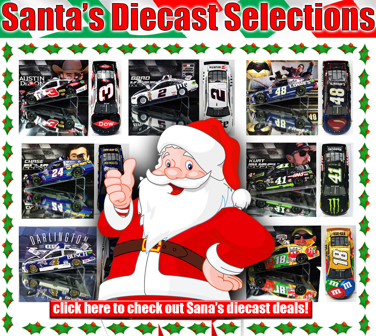 diecast santa holiday deal