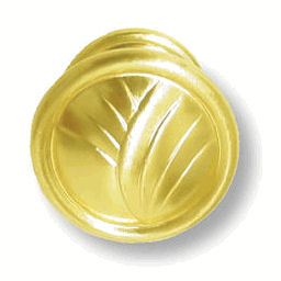 Sterling Brass Round Knob