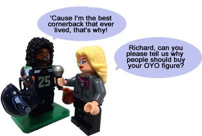 Richard Sherman OYO Figure