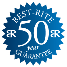50 Year Warranty on Porcelain Surface