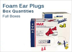Foam Ear Plugs in Boxes