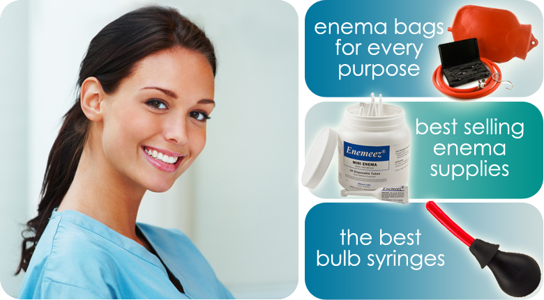Enema Supply - Enema bags, Enema Bulbs and Enema Supplies