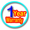 1 year warranty on your neon sign