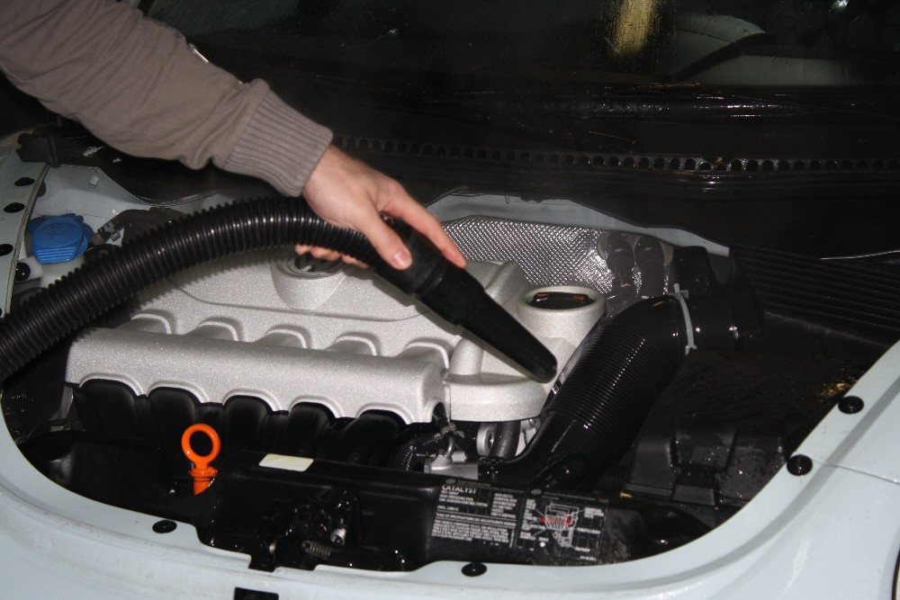 Drying Your Engine Compartment