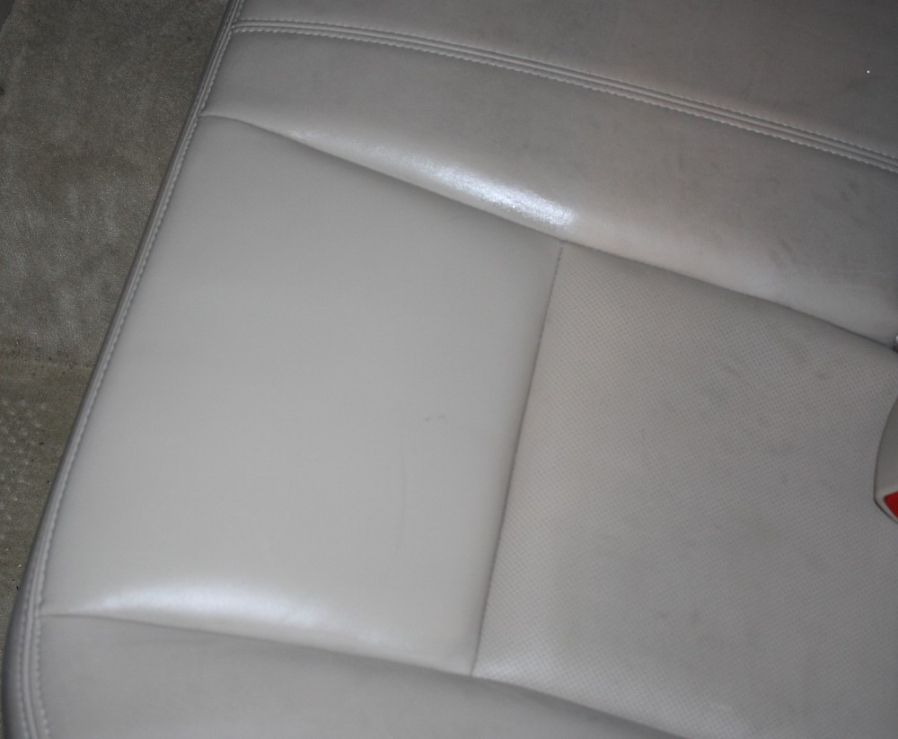 Conditioned Leather Seat