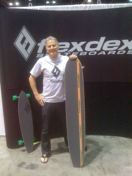 The Fat Daddy is 60inches x 10inches wide setup with Randal-2 180 and 66mm wheels. F*ck Yeah!
