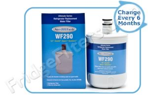 Aqua Fresh WF290 (LG Compatible) Refrigerator Water Filter