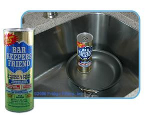Bar Keepers Friend 11514 21-Ounce Cookware Cleaner