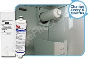 Bosch CS-52 Refrigerator Water Filter