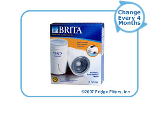 Brita 42646 AquaView AVFR-200 Faucet Filter Replacement Cartridge (2-Pack)