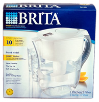 42556 Brita Grand SMART OB36 80-Ounce Water Pitcher