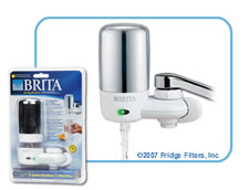 Brita 42622 On-Tap FF-100 Faucet Filter - Chrome