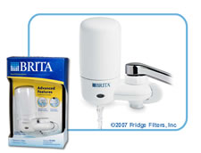 Brita 42201 On-Tap FF-100 Faucet Filter - White