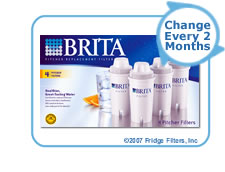 Brita 42432 OB03 Pitcher Replacement Cartridge (4-Pack)