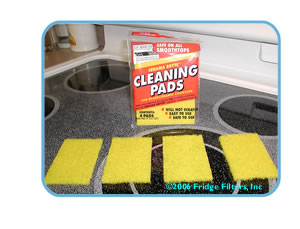 Cerama Bryte 29128 Ceramic Cooktop Cleaning Pads