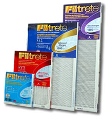 3M Filtrete 1-inch Whole House Air Filters for Furnace & Central Air Conditioning Systems
