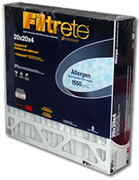 Filtrete 1550 4-inch Allergen Reduction Filter - 20x20x4