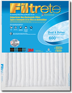 Filtrete 600 Dust and Pollen Filter - 14x24x1