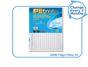 20x25x1 3M Filtrete Dust and Pollen Filter (1-Pack)