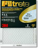 14x20x1 3M Filtrete Elite Allergen Filter (1-Pack)