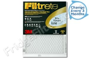 14x25x1 3M Filtrete Elite Allergen Filter (1-Pack)