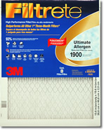 16x16x1 3M Filtrete Ultimate Allergen Filter (1-Pack)