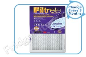 22x22x1 3M Filtrete Ultra Allergen Filter (1-Pack)