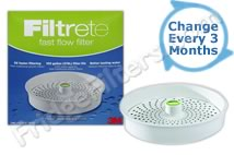 Filtrete FFRF01-WH-1 Filtrete Fast Flow Replacement Filter
