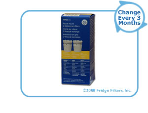 GE FXMLC-2PK SmartWater Faucet Filter Replacement Cartridge (2-Pack)