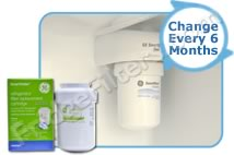 GE MWFINT - International MWF SmartWater Refrigerator Water Filter