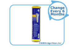 GE FXULC SmartWater Undersink Filter Replacement Cartridge