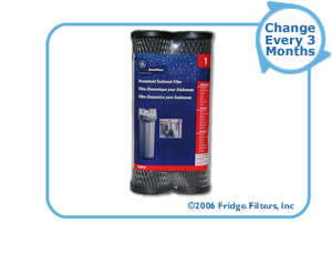GE FXWTC SmartWater Whole House Filter Replacement Cartridge