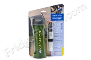 Katadyn 8017777 MyBottle Ultralight Series 24-Ounce Personal Water Purifier Bottle - Green Deer