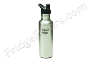 Klean Kanteen K27PPS 27-Ounce Stainless Steel Water Bottle with Sport-Top