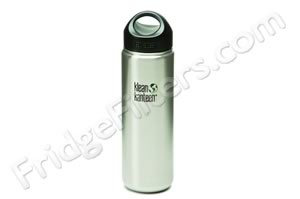 Klean Kanteen K27WSSL 27-Ounce Stainless Steel Wide Mouth Bottle with Loop-cap