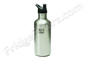Klean Kanteen K40PPS 40-Ounce Stainless Steel Water Bottle with Sport-Top