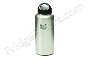 Klean Kanteen K40WSSL 40-Ounce Stainless Steel Wide Mouth Bottle with Loop-cap