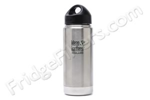 Klean Kanteen K16VWSSL 16-Ounce Stainless Steel Wide Insulated Bottle with Loop-cap